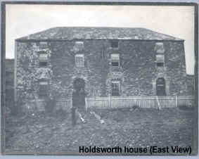 Holdsworth house as it appeared at the turn of the 20th century
