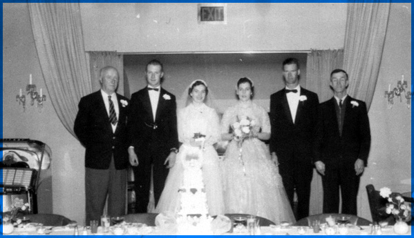 Howard and Mary (Carroll) Morry's Wedding
